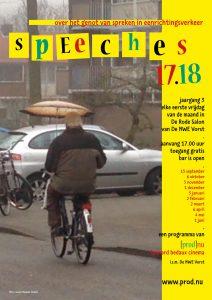 Affiche speeches 17-18