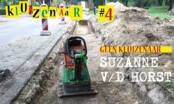 Kluizenaar Suzanne van der Horst